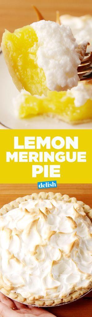Easy Lemon Meringue Pie   - l -