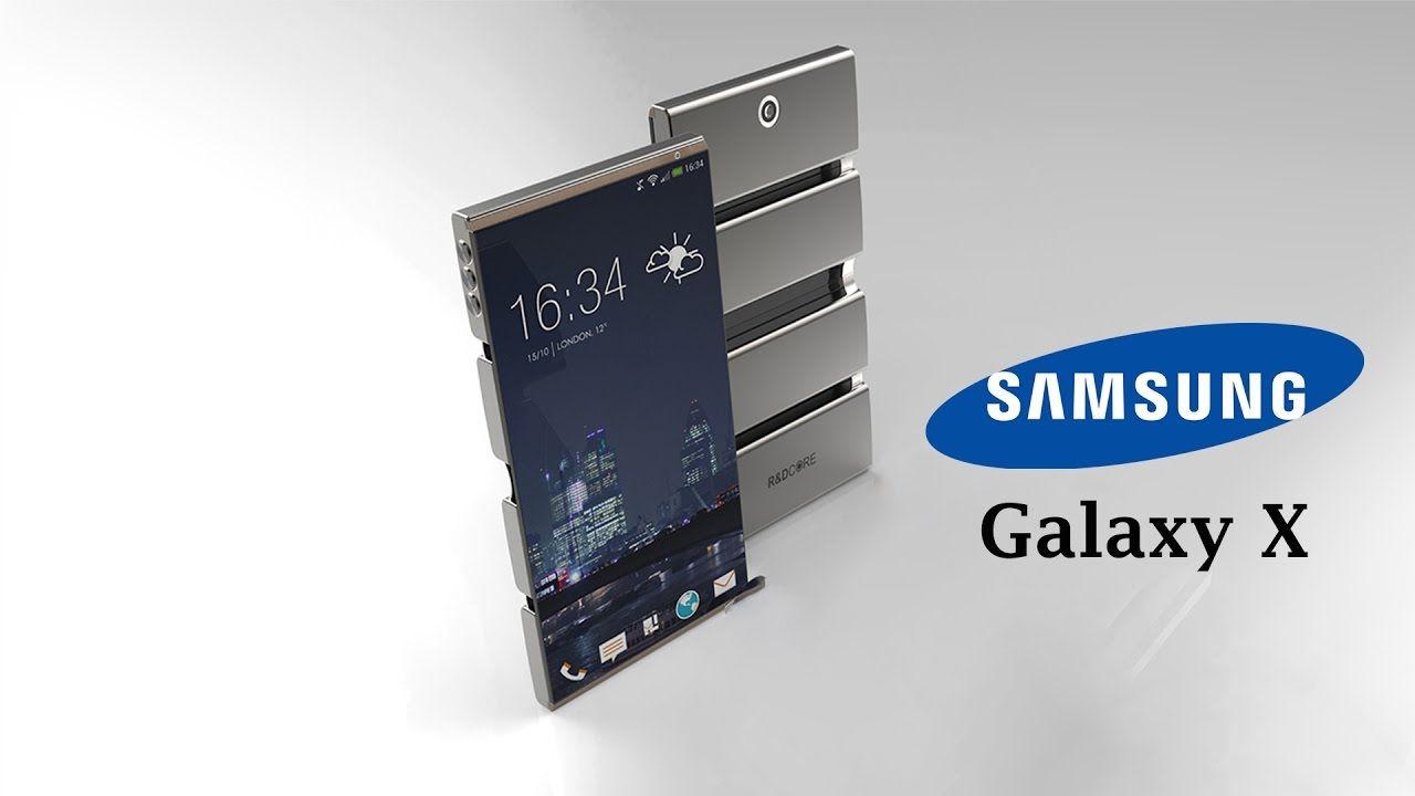 cool Samsung Galaxy X Foldable Smartphone ( Galaxy X1 & X1+