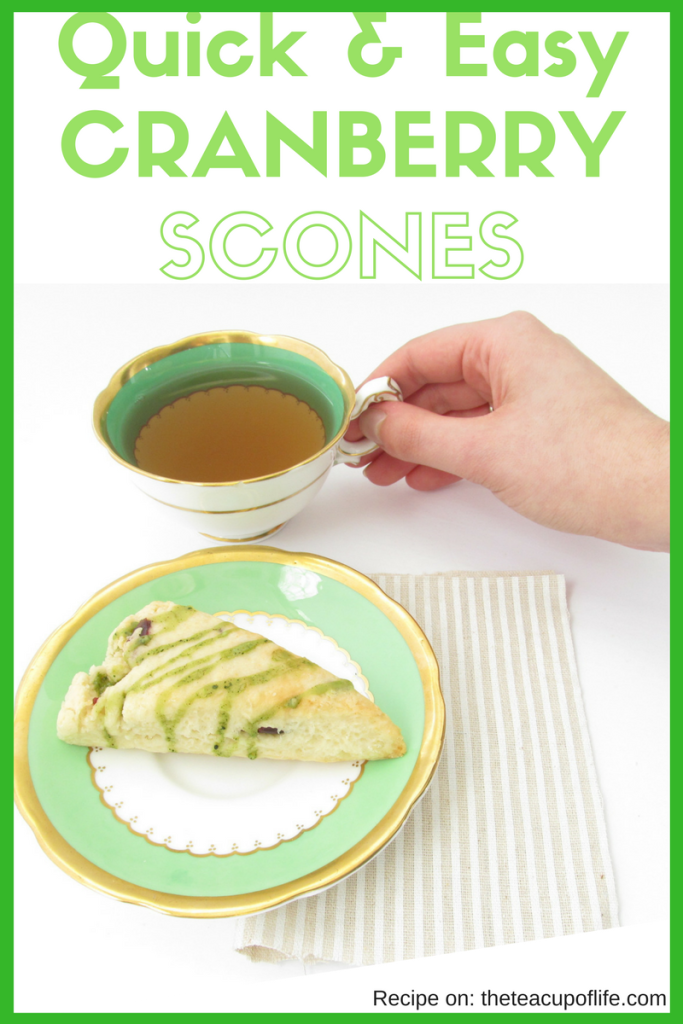 The perfect treat for afternoon tea. Nothing really beats a bite of a freshly baked scone and a sip of hot tea together.