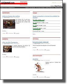 http://www.wikijornal.com/ Ferramenta para criar jornal escolar wikijornal exemplo