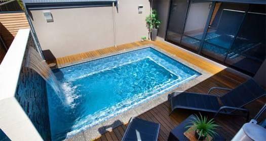 Resultado de imagem para piscinas pequenas Mini pools Pinterest
