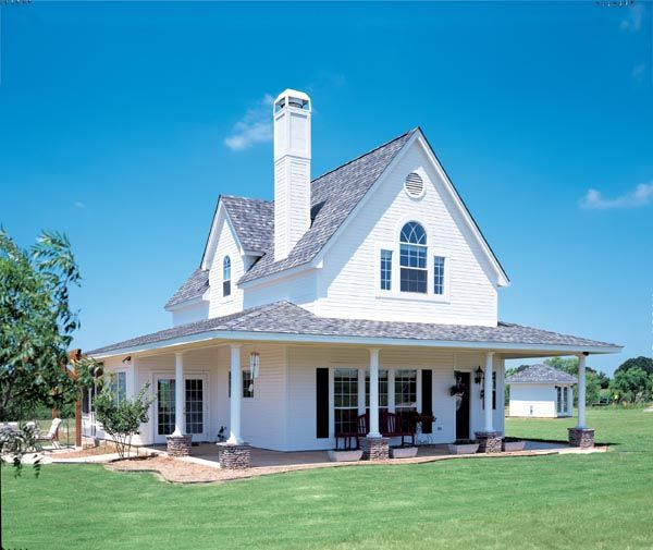 Lovely Cottage Meets Farmhouse Plan   Iu0027d Probably Remove The Downstairs  Bedroom And Have
