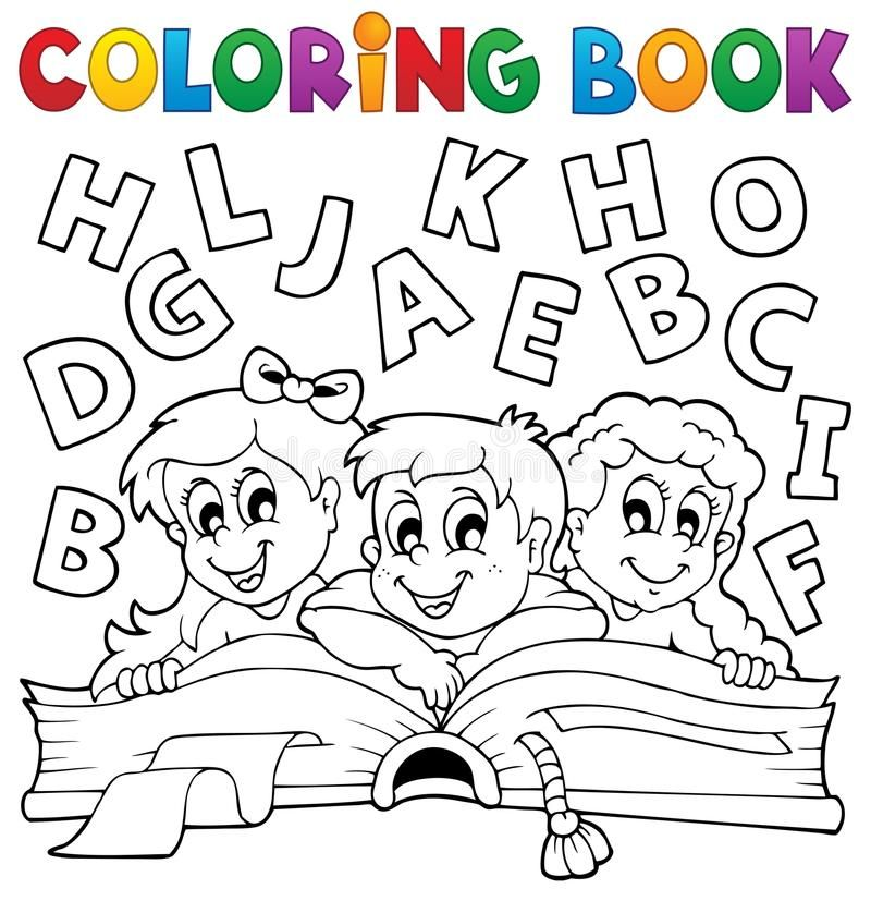 Vector Stock Coloring Book With Small House Clipart Illustration Gg57875805 Gograph In 2020 Coloring Books Kids Coloring Books Vector Illustration