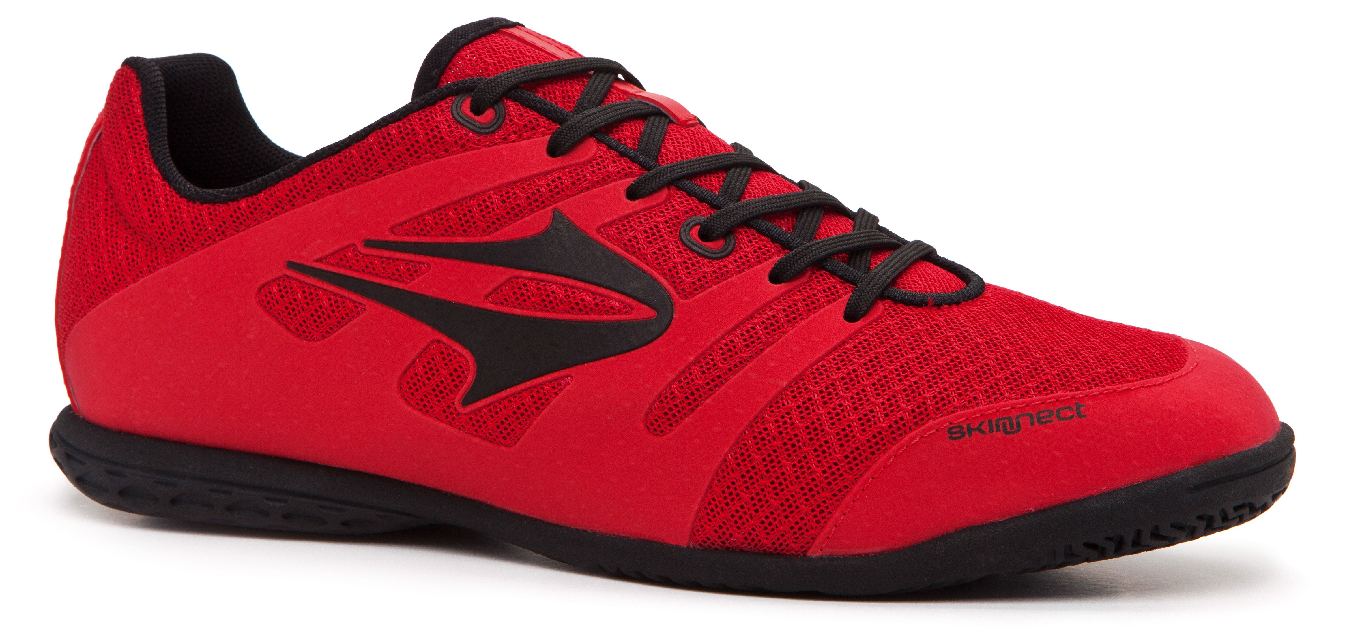 2015 Chuteira Topper Letra futsal vermelha preta  d94ab9a5ee3f5