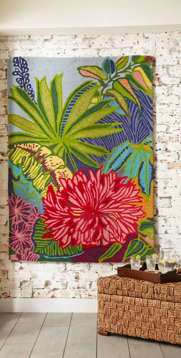 Inspired By Tropical Foliage And Flowers Our Beautifully