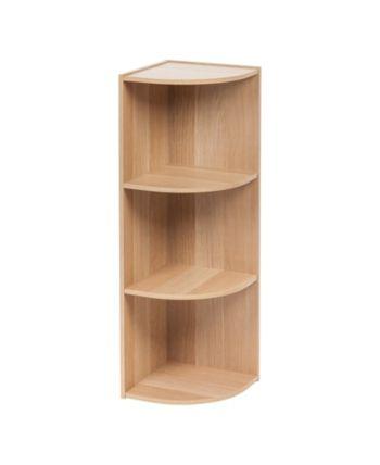 Iris Usa 3 Tier Corner Curved Shelf Organizer Reviews Furniture Macy S Modelos De Repisas Decoracion De Repisas Paletas De Madera