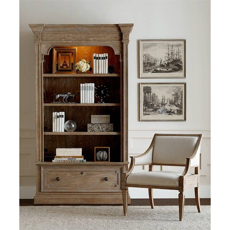 Stanley Furniture Wethersfield Estate 4 Shelf Lateral File Bookcase