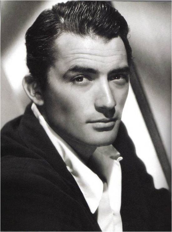 """""""Gregory Peck is the hottest thing in town. Some say he is a second Gary Cooper. Actually, he is the first Gregory Peck."""" - G.P."""