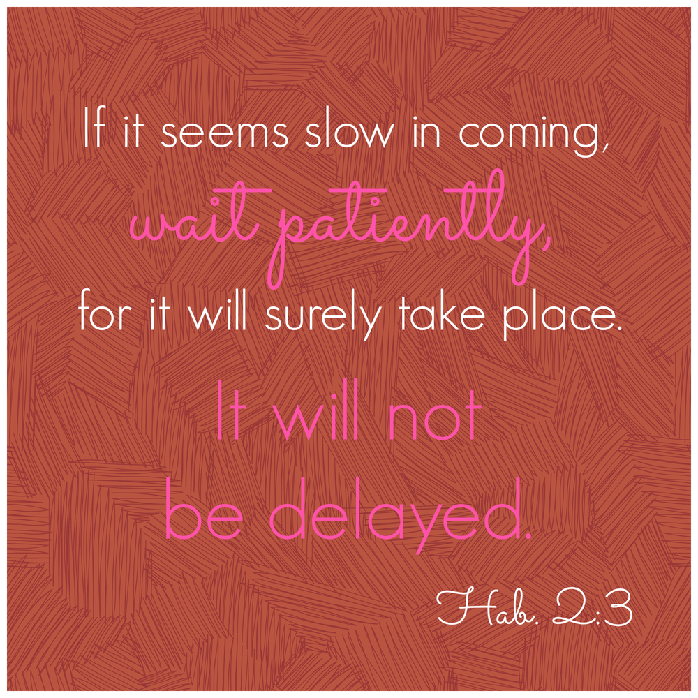 Waiting Patiently During Infertility | Pinterest | Scriptures, Bible ...
