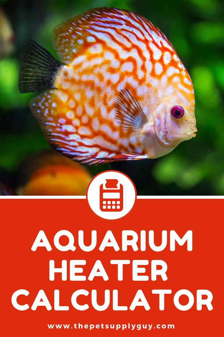 Aquarium Heater Size Calculator - (Fish Tank Heater Size