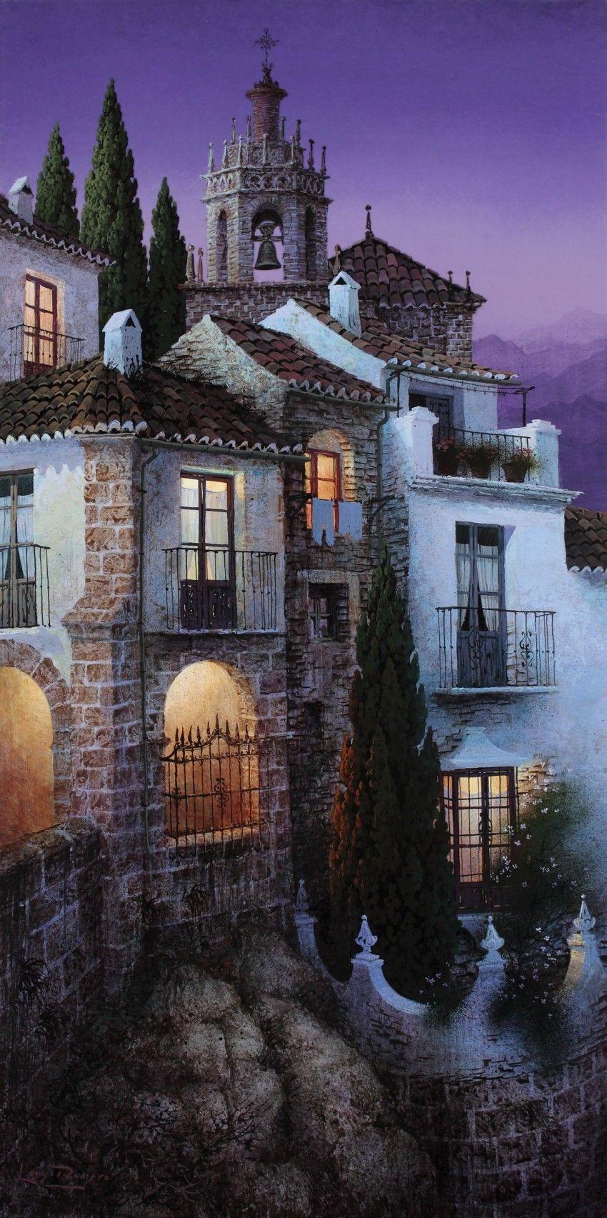 Casas al Tajo. Luis Romero
