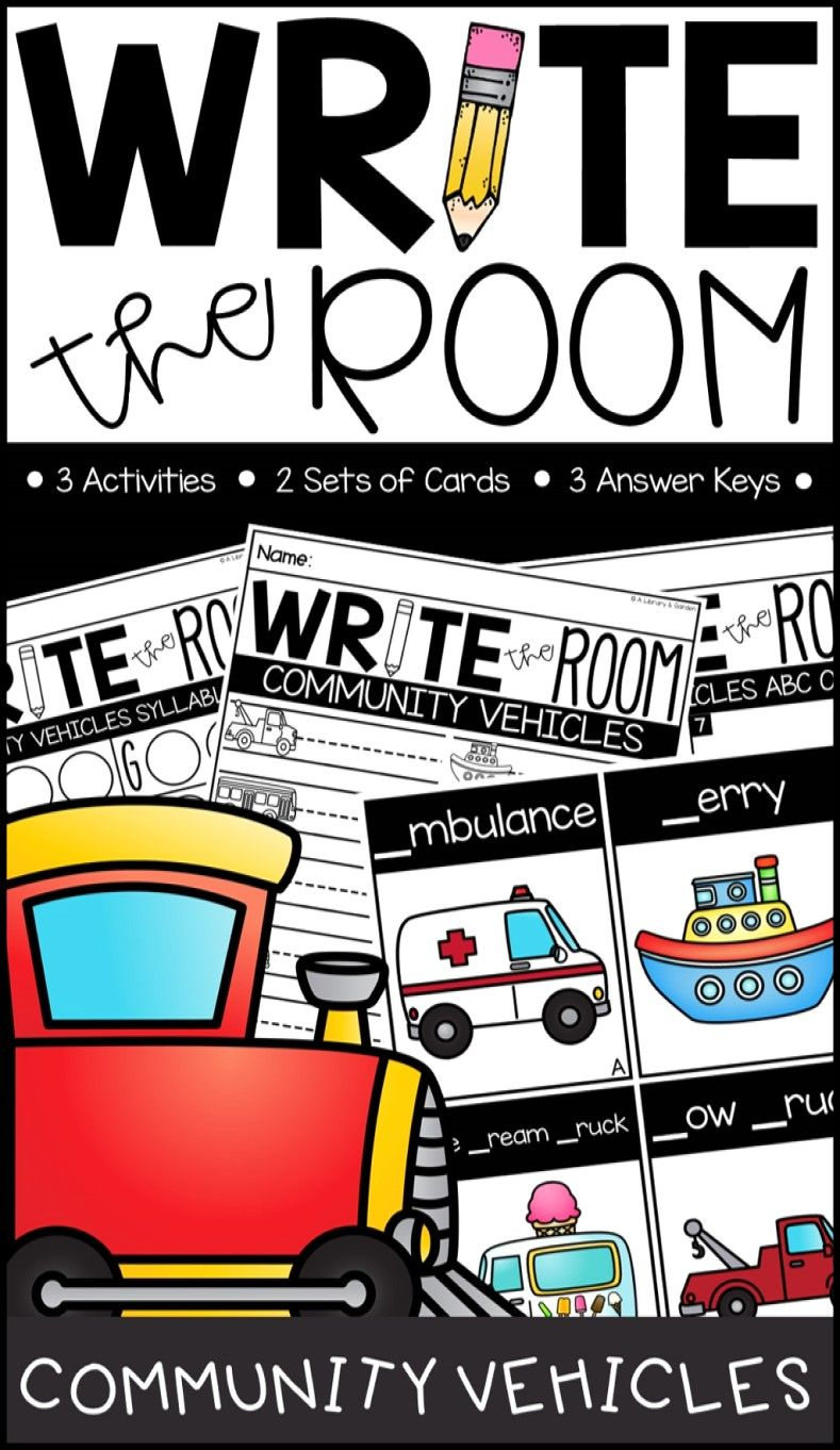 Write the Room Community Vehicles Edition (With images