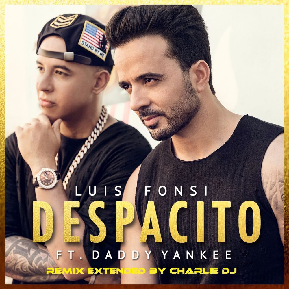 Luis Fonsi Ft Daddy Yankee Despacito New Album Cover Poster 12x12