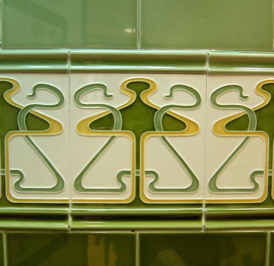 Craven Dunnill Jackfield Art Nouveau Art Nouveau Tiles Art Nouveau Art Deco