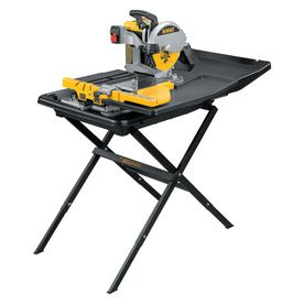 Dewalt 10 In 1 5 Wet Dry Bridge Sliding Table Tile Saw With Stand D240 Tile Saw Sliding Table Tile Saws