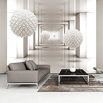 Murando   Fototapete Abstrakt 400x280 Cm   Vlies Tapete   Moderne Wanddeko    Design Tapete   Wandtapete   Wand Dekoration   3d Optische A A 0149 A B:  ...