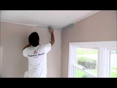 painting the walls proper technique benjaminmoore how to paint moore painting painting. Black Bedroom Furniture Sets. Home Design Ideas