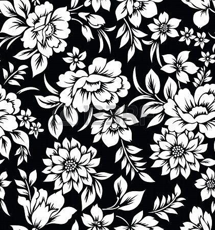 Decorative Seamless Floral Wallpaper To Design Wallpaper Floral