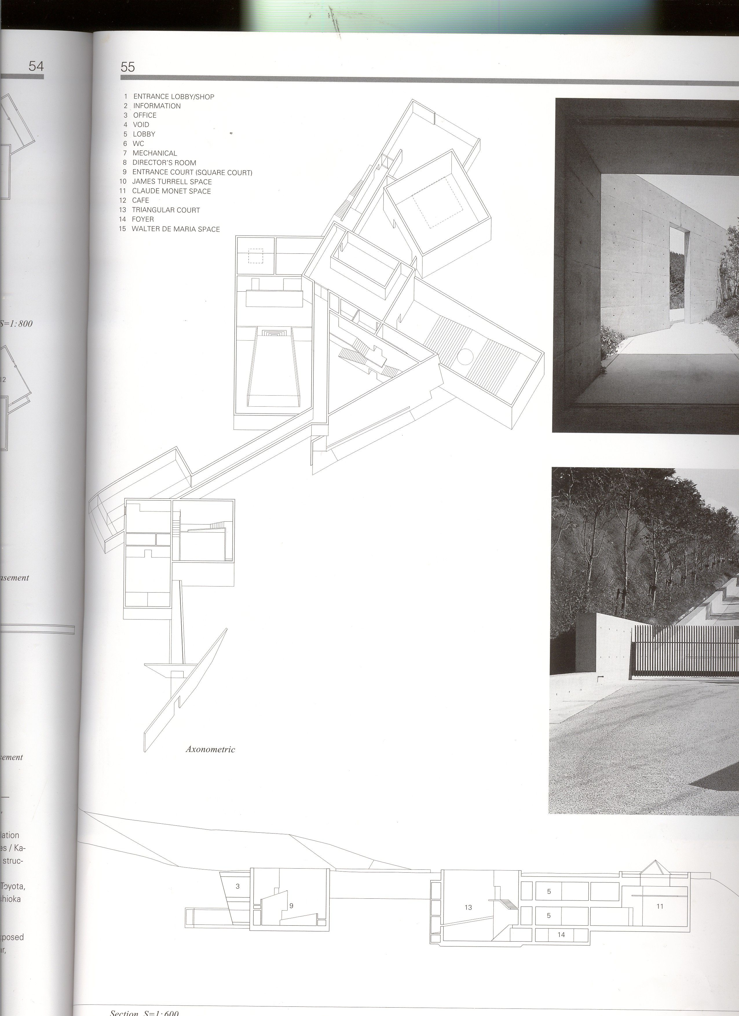 20060331 1606chichu Plan 3 Jpg 2552 3508 Museum Plan Chichu Art Museum Tadao Ando