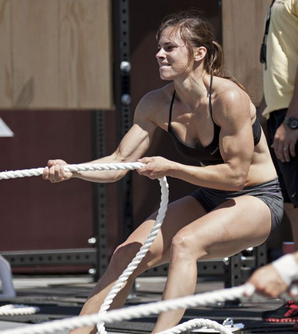 Julie Foucher, going to medical school... AND she can eat clean, train mean, and Be a Crossfit All Star?? I got no excuses!!!