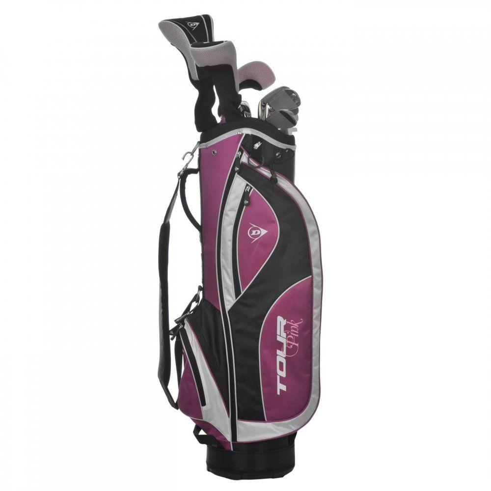 Dunlop Tour Pink Golf Set Ladies