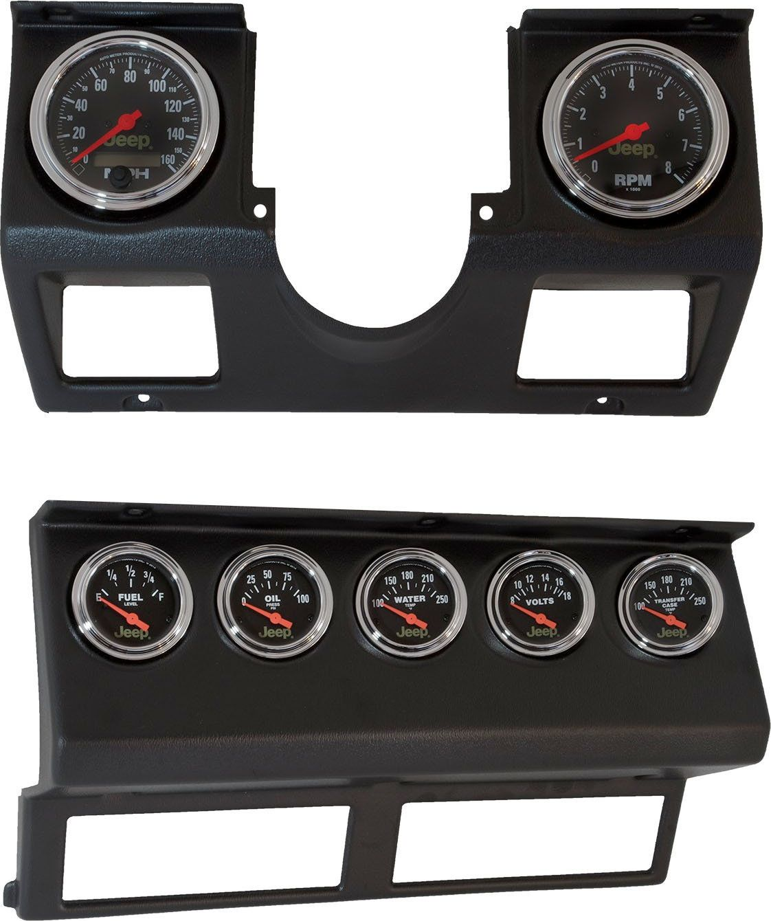 make gauge installation simple and clean with auto meter s direct fit dash replacement panels their [ 1122 x 1340 Pixel ]