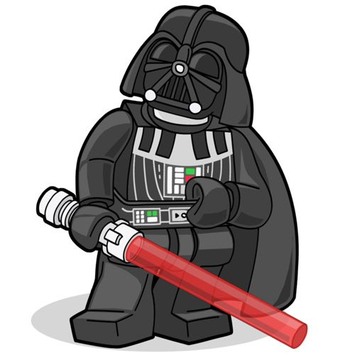 Darth Vader Coloriage Star Wars Lego Personnage Et Dark