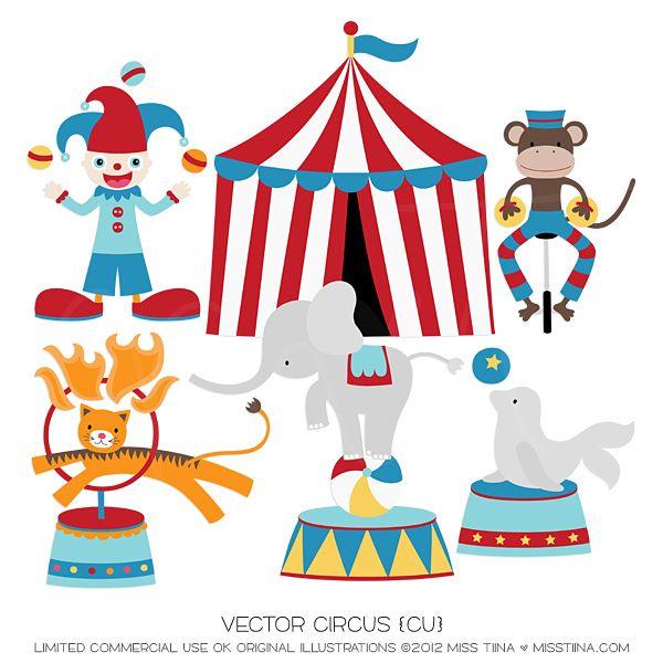circus animals | Theme // Carnival | Pinterest | Birthdays