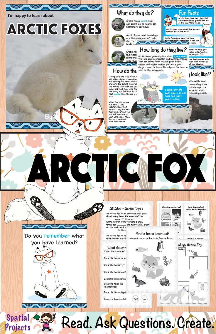 Arctic fox life cycle