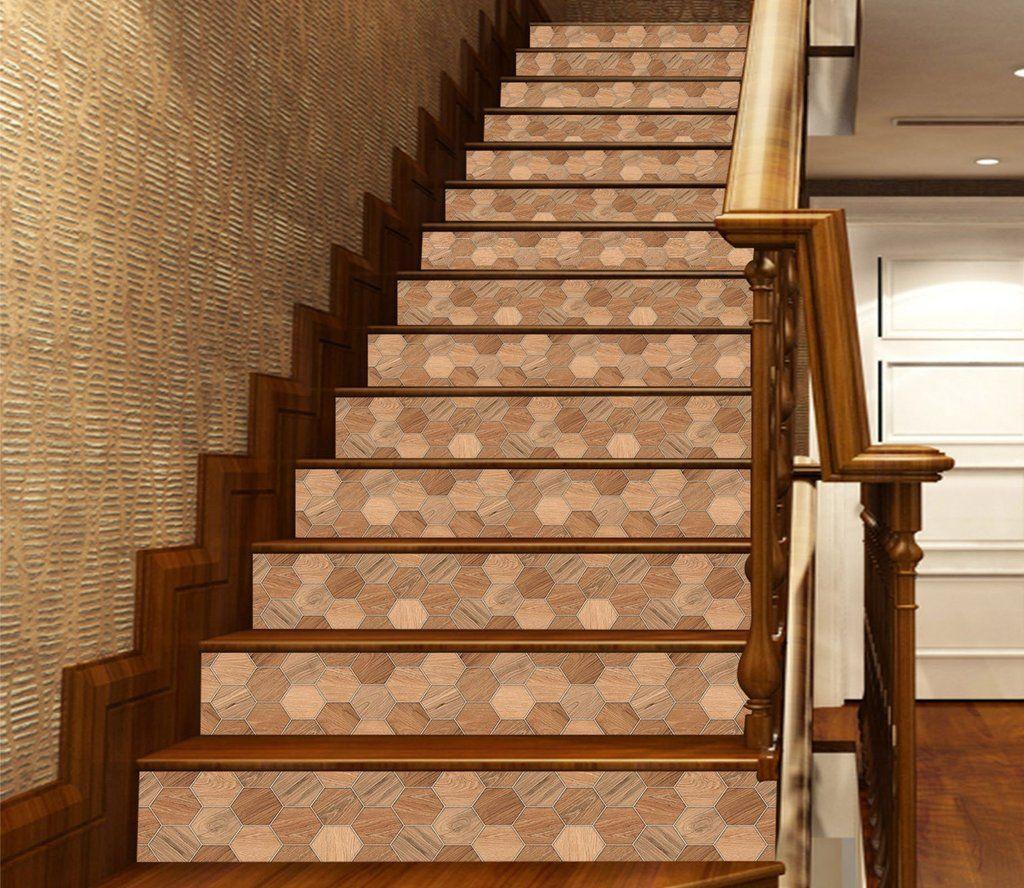 Best 3D Honeycomb Wood Grain 884 Marble Tile Texture Stair 640 x 480