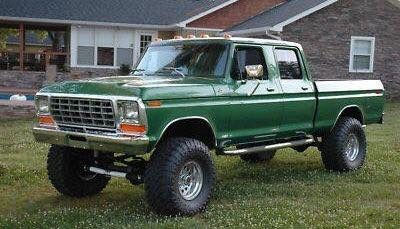Nice old Ford crew cab
