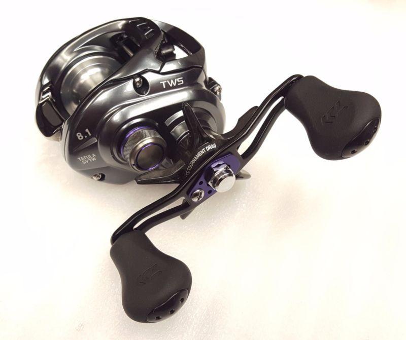 Daiwa Tatula Sv Tw 103xs 8 1 1 Baitcast Right Hand Fishing Reel Tasv103xs Fishing Reels Fish Right Hand