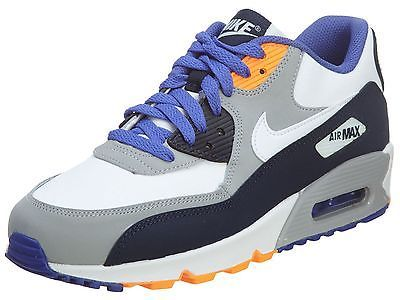 quality design d3ceb c21e1 Nike Air Max 90 Ltr Gs Big Kids 724821-400 Obsidian Grey Running Shoes Size  6.5