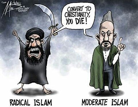 Actually, no you don't, the results are already written,  but we get the point of this.  Moderate Muslim friends, do you?