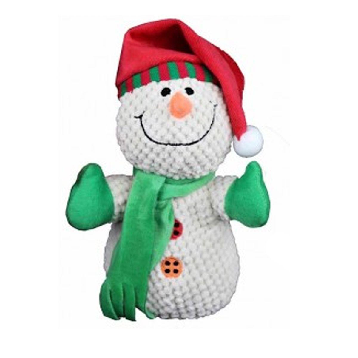 Petlou Christmas Snowman Dog Toy Dog Toys Christmas Snowman