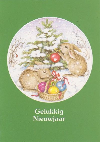 L. - Christmas Bunnies