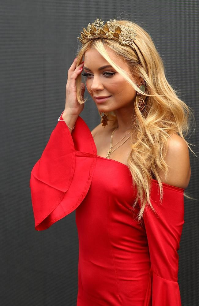 Celebrity fashion at melbourne cup 2019