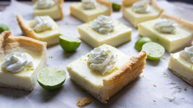 Key Lime Pie Cheesecake Bars