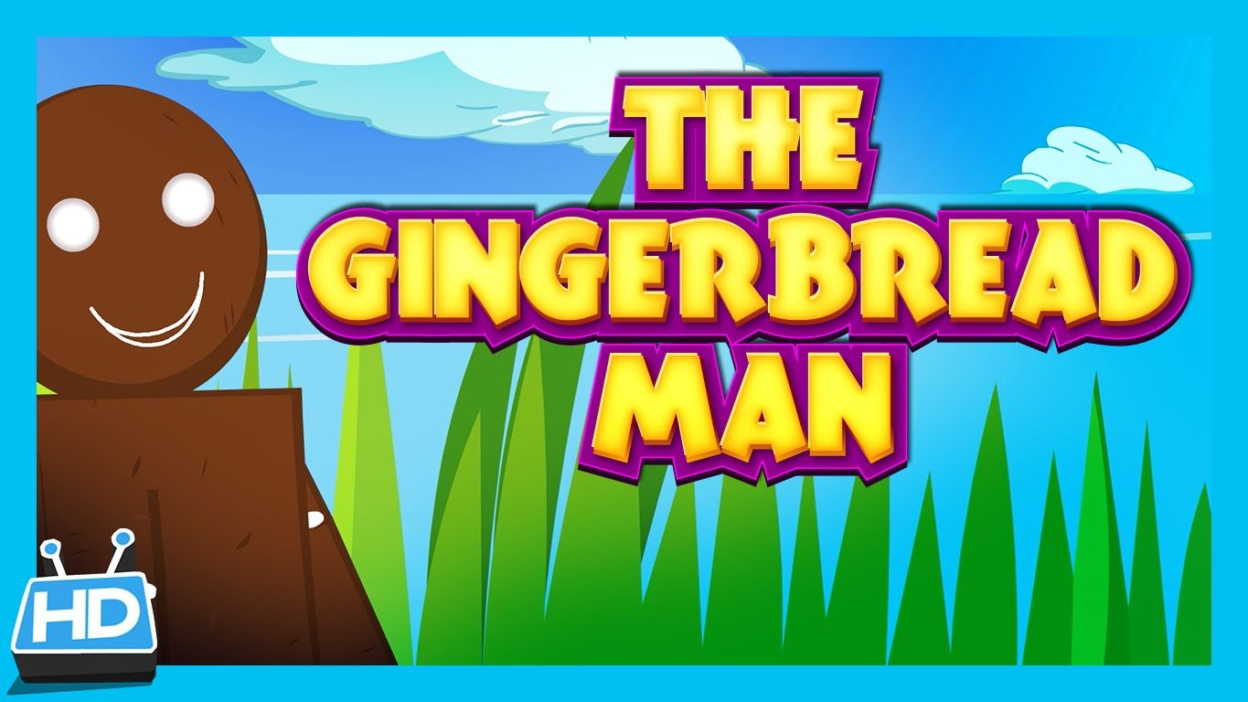 The Gingerbread Man Story (Short Story for Kids) Fairy
