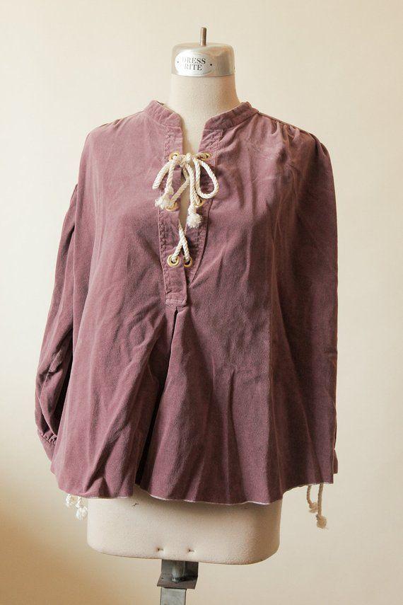 /'Serf Shirt/' Steampunk BROWN