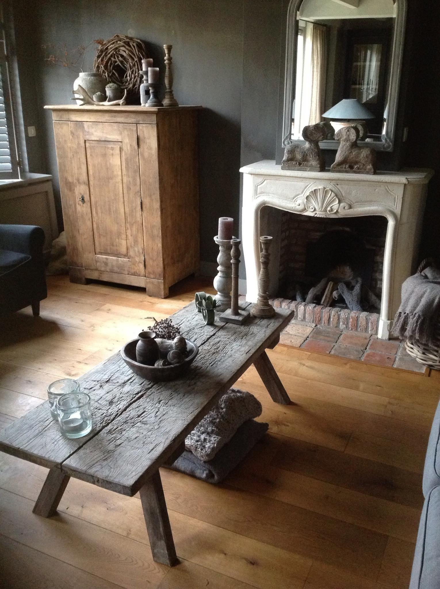 Landelijke salontafel door stylin for Stoer landelijk