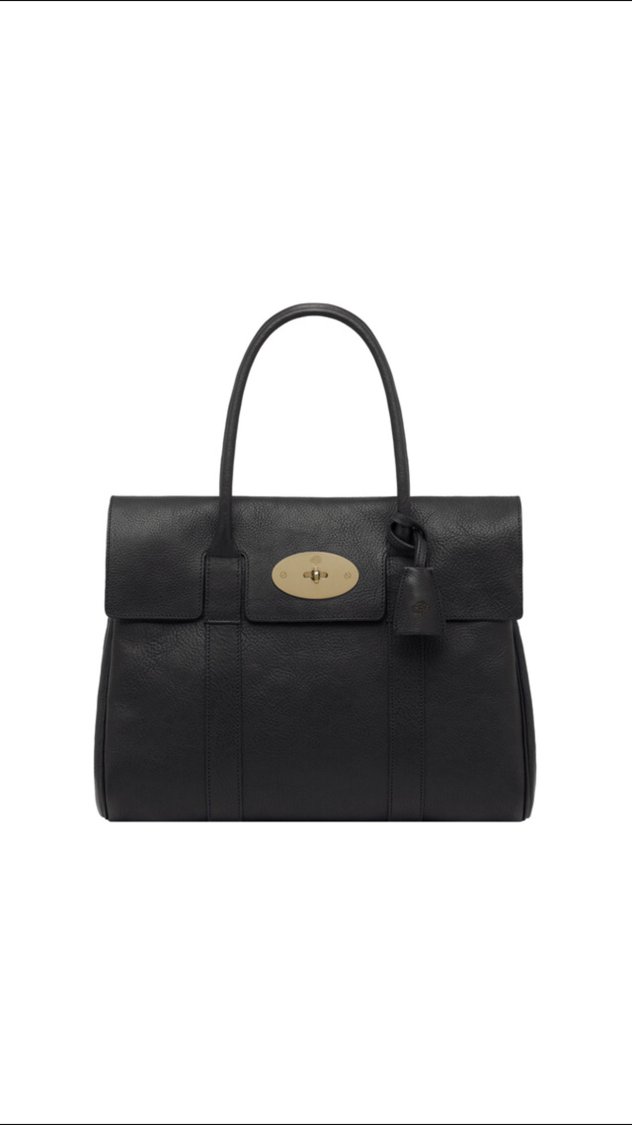 d58adfa2f0 ... hot mulberry pocket bayswater in black natural leather with brass d35c2  11450 ...