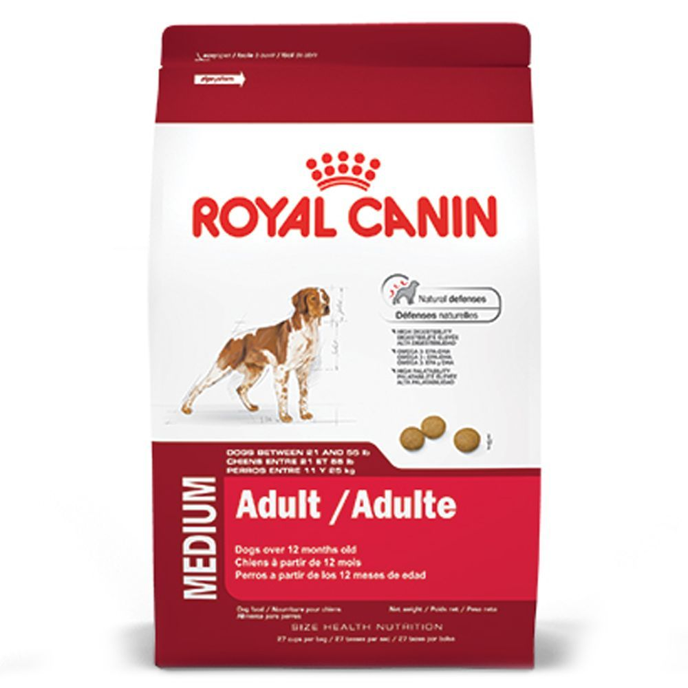 Royal Canin Size Health Nutrition Medium Adult Dog Food Size 17