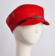 Kathy Jeanne Hats  City Cap Red