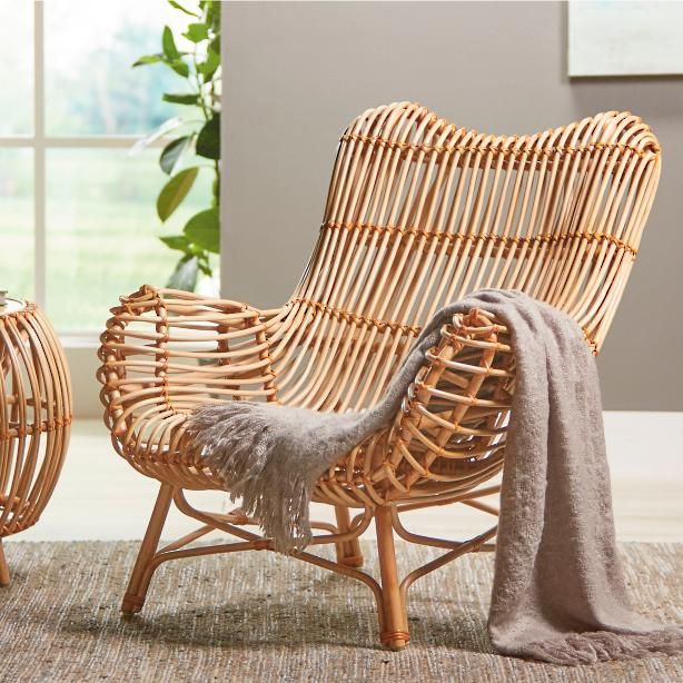 Comfortable Wicker Chairs Chair Covers Bristol Remarkably And Supportive Our Curving Sairah Rattan Is A Statement Making Piece That
