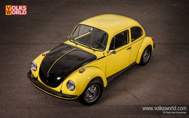 Yellow Black Racer Beetle Volksworld Magazine Coches Y