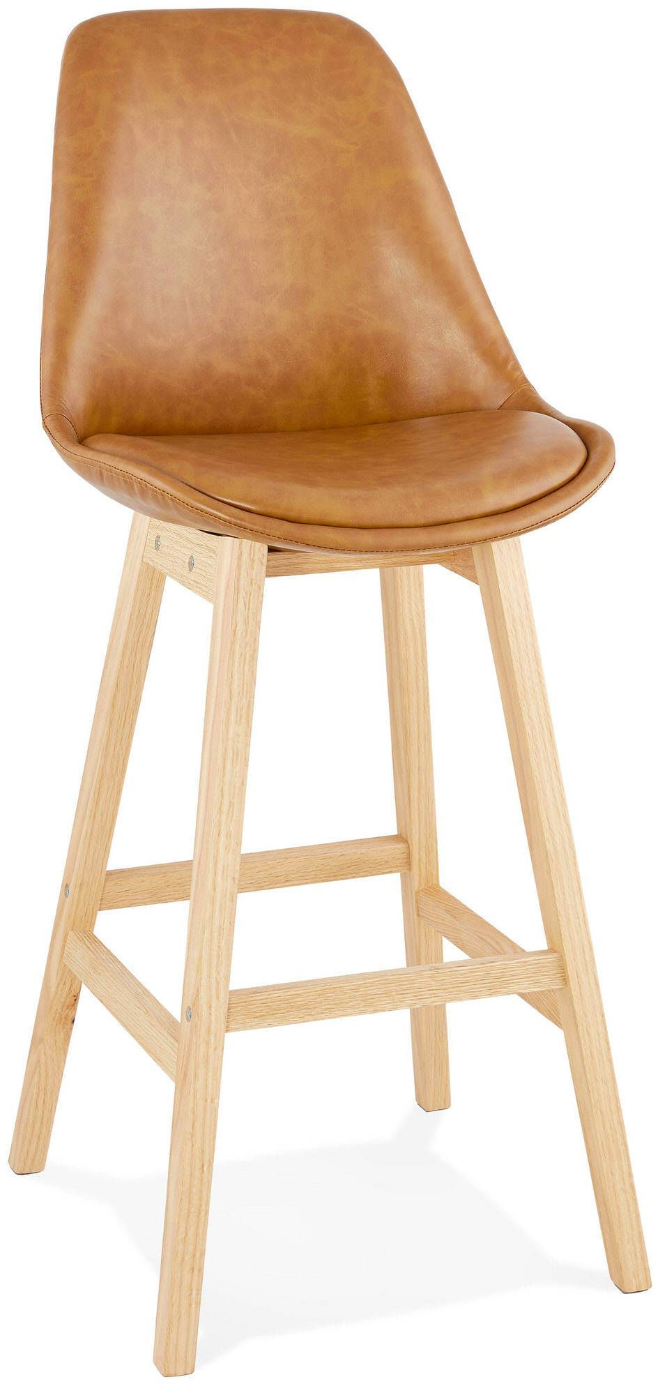 Tabouret De Bar Design Janie Kokoon Design Marron