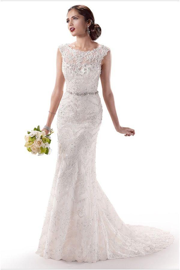 Fit-n-Flare Maggie Sottero Wedding Dresses | Wedding Dresses ...