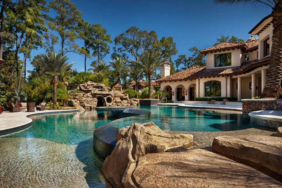 16 spettacolari ville di lusso con piscina villa di for Ville interni di lusso