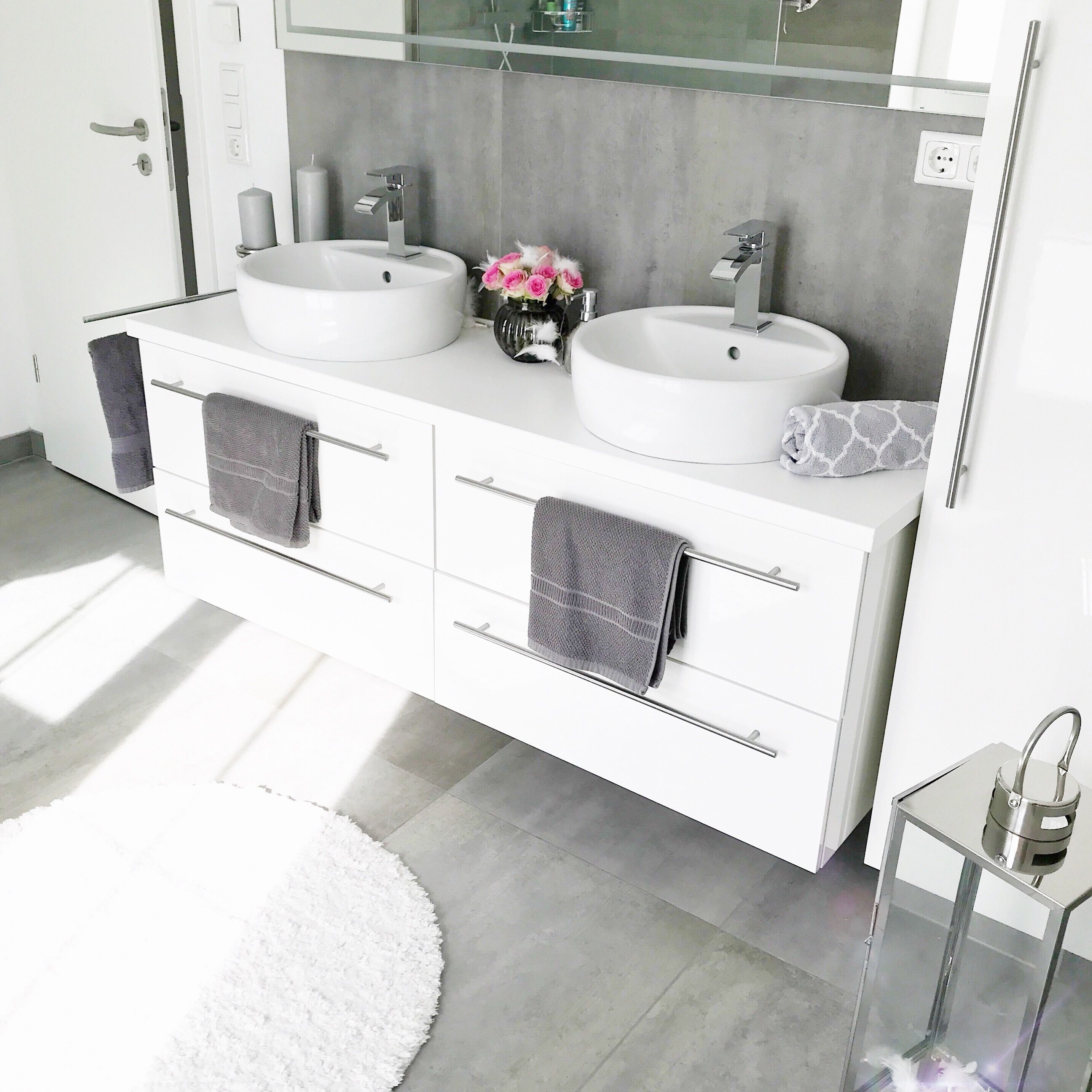 Instagram Wohn Emotion Landhaus Badezimmer Bathroom